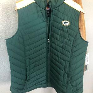 Green Bay Packers Run Down Puffer Vest